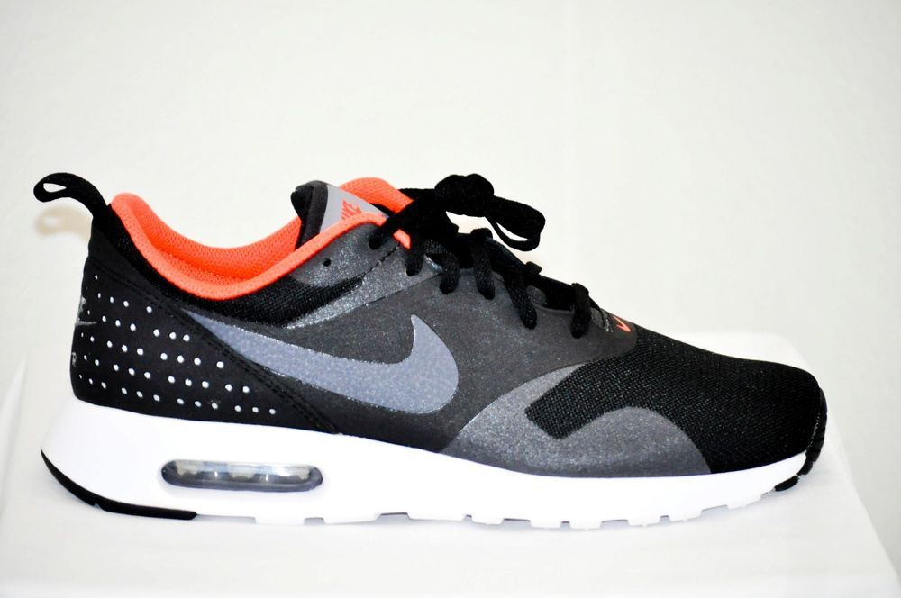 1fb655963 Find many great new & used options and get the best deals for Nike Air Max  Tavas Black Crimson Mens Running Shoes SNEAKERS NSW 705149-008 9 at the best  ...
