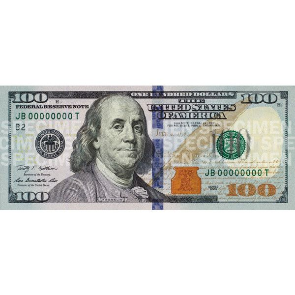 United States one hundred-dollar bill liked on Polyvore featuring money, fillers, phrase, quotes ...
