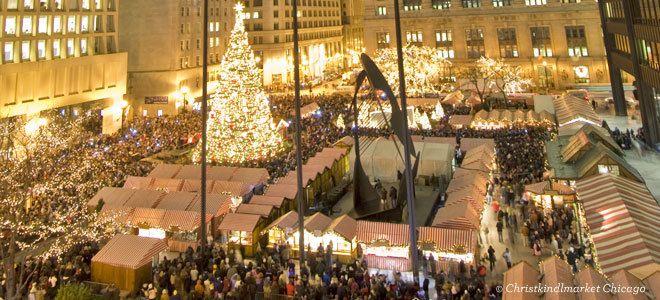 Chicago Christmas Market.Christkindlmarket Chicago Winter Christmas Chicago