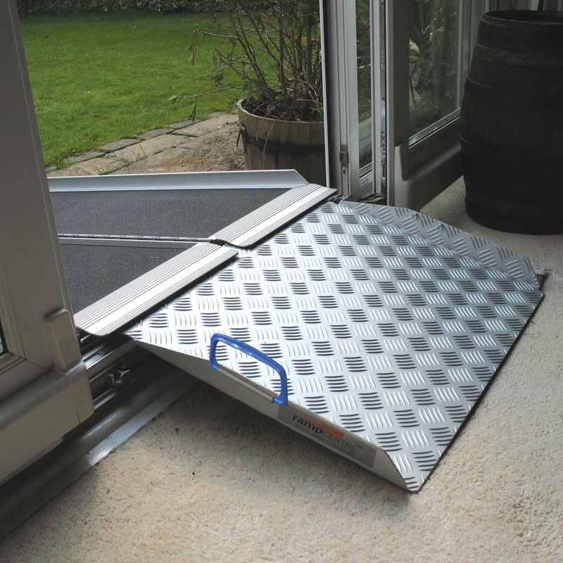 Wheelchair Access Front Door: Up And Over Door Frame Ramp Kit