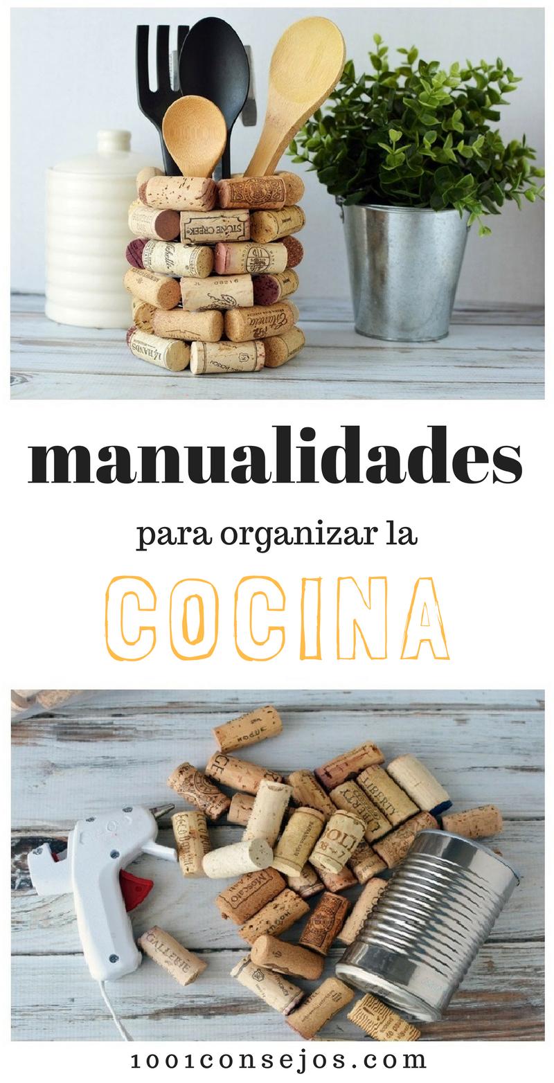 Manualidades Recicladas Para La Cocina 1001 Manualidades Easy