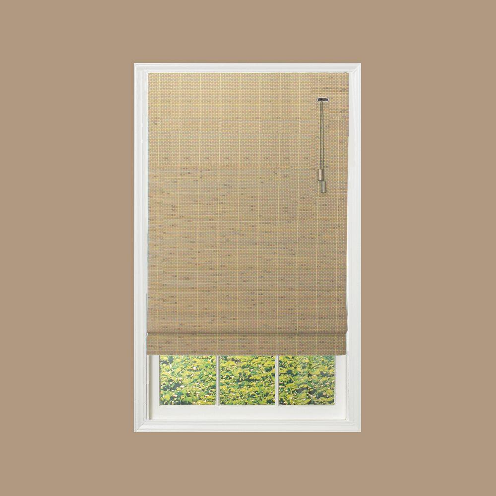 Home Decorators Collection Driftwood Brown Beveled Reed Weave