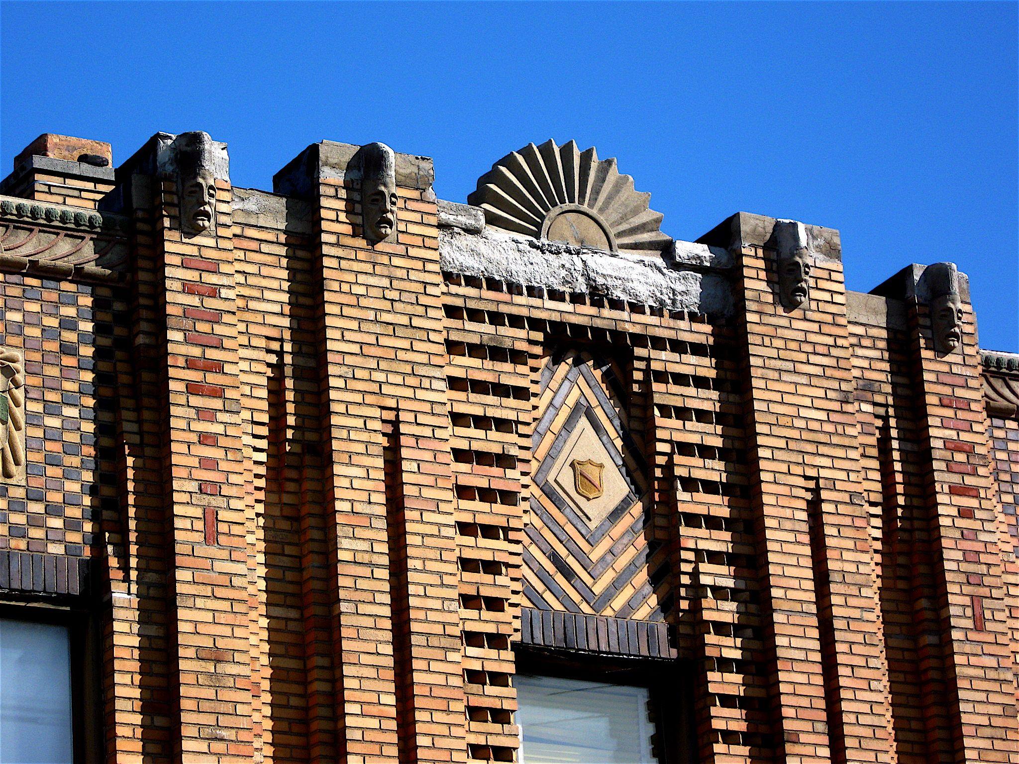 Smaller art deco buildings in detroit art deco building for Detroit architectes