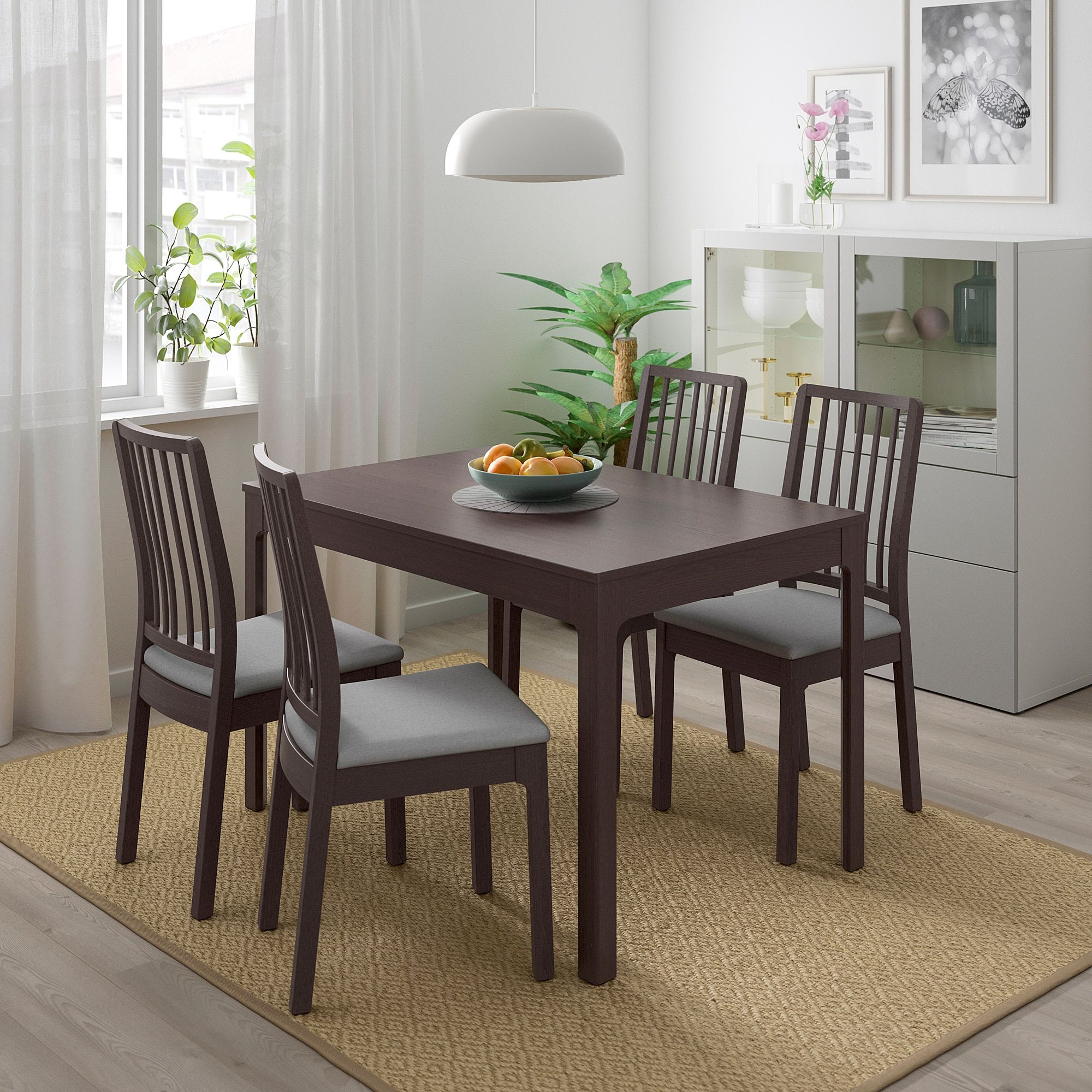Ekedalen Extendable Table Dark Brown 47 1 4 70 7 8x31 1 2 In 2020 Dining Room Sets Dining Table Furniture