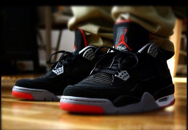 37937c84aedda8 Air Jordan 4 Bred one of my absolute favorites