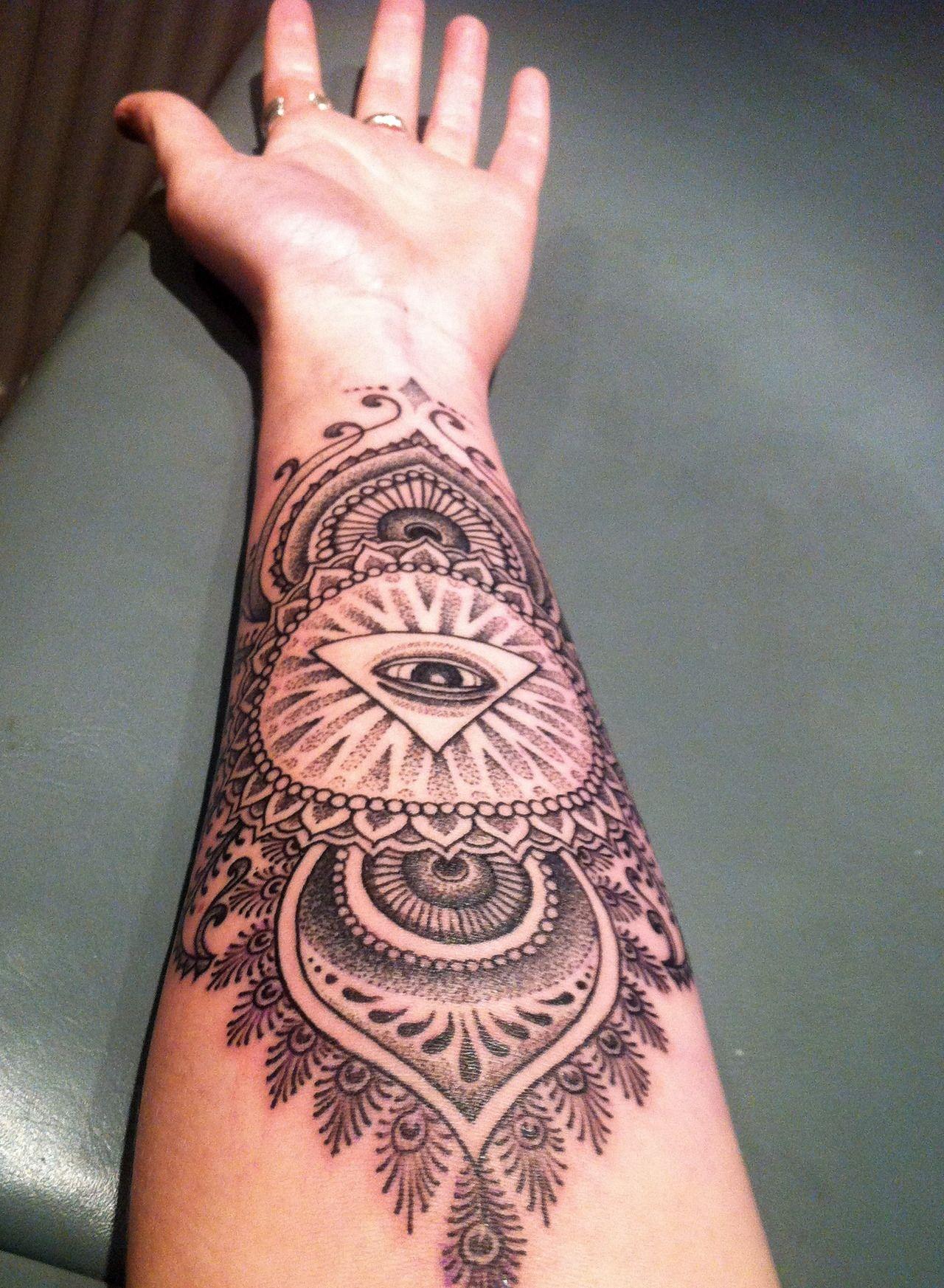 Henna Eye Tattoo: Pinterest