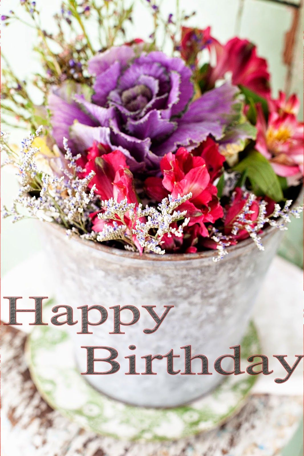 Happy Birthday Flowers Images Wishes Pinterest Flower Images