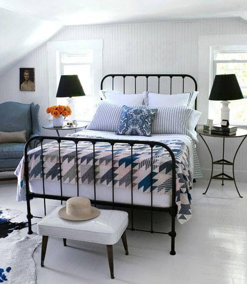 Vintage Findings Cottage Style Guest Bedroom Design Bedroom