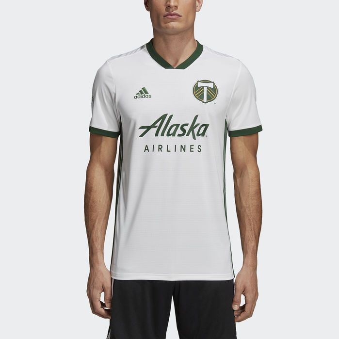finest selection 91768 5202b Portland Timbers Away Jersey White Mens in 2019   Products ...