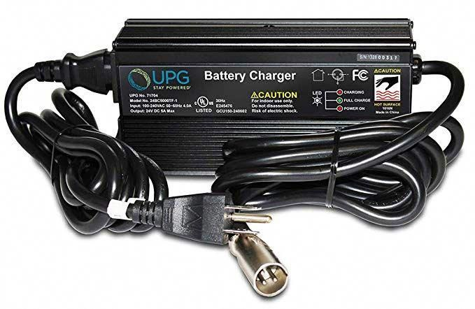 MPV 5 24V 5A Battery Charger for Hoveround Forerunner//MPV 4