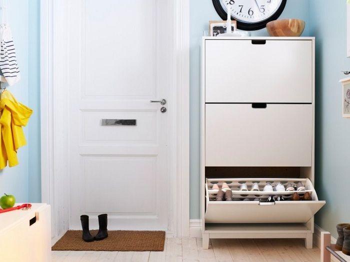 platzsparende flurm bel schuhschrank selber bauen m bel selber bauen pinterest. Black Bedroom Furniture Sets. Home Design Ideas