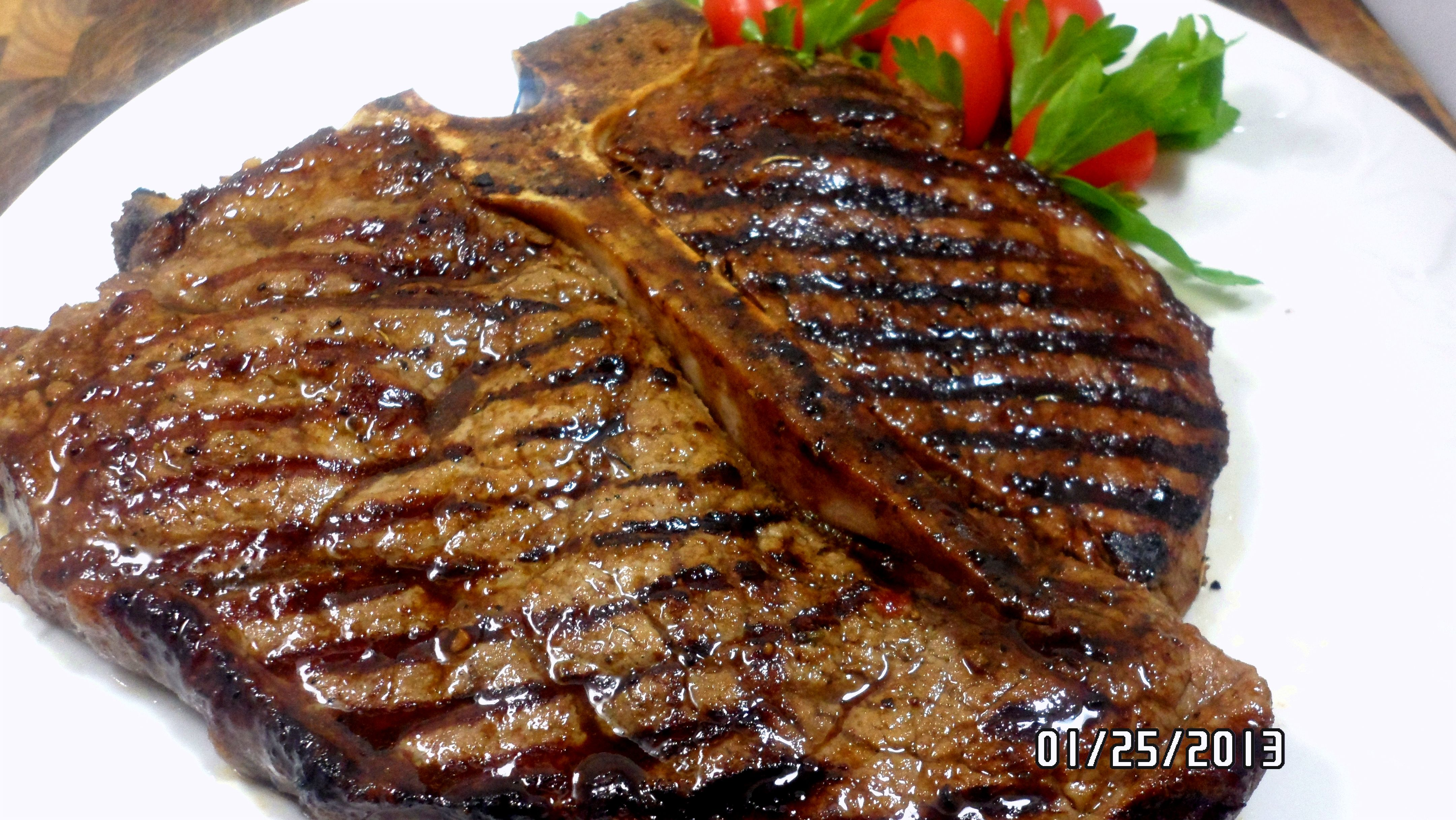 how to cook thin t bone steak on grill