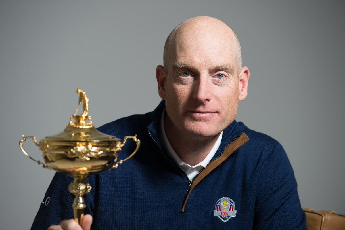 """Jim Furyk on Twitter 20170111: """"Incredibly honored to be the 2018 @RyderCupUSA Captain. Really looking forward to the next two years and the journey to Paris!"""" #GoUSA"""