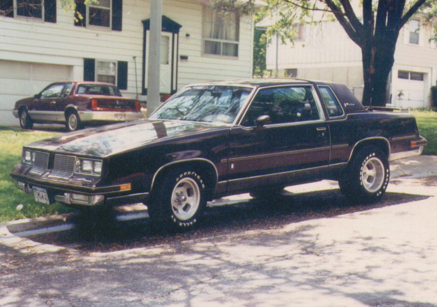 My 1985 Oldsmobile Cutlass Supreme Brougham  307 CID Rocket