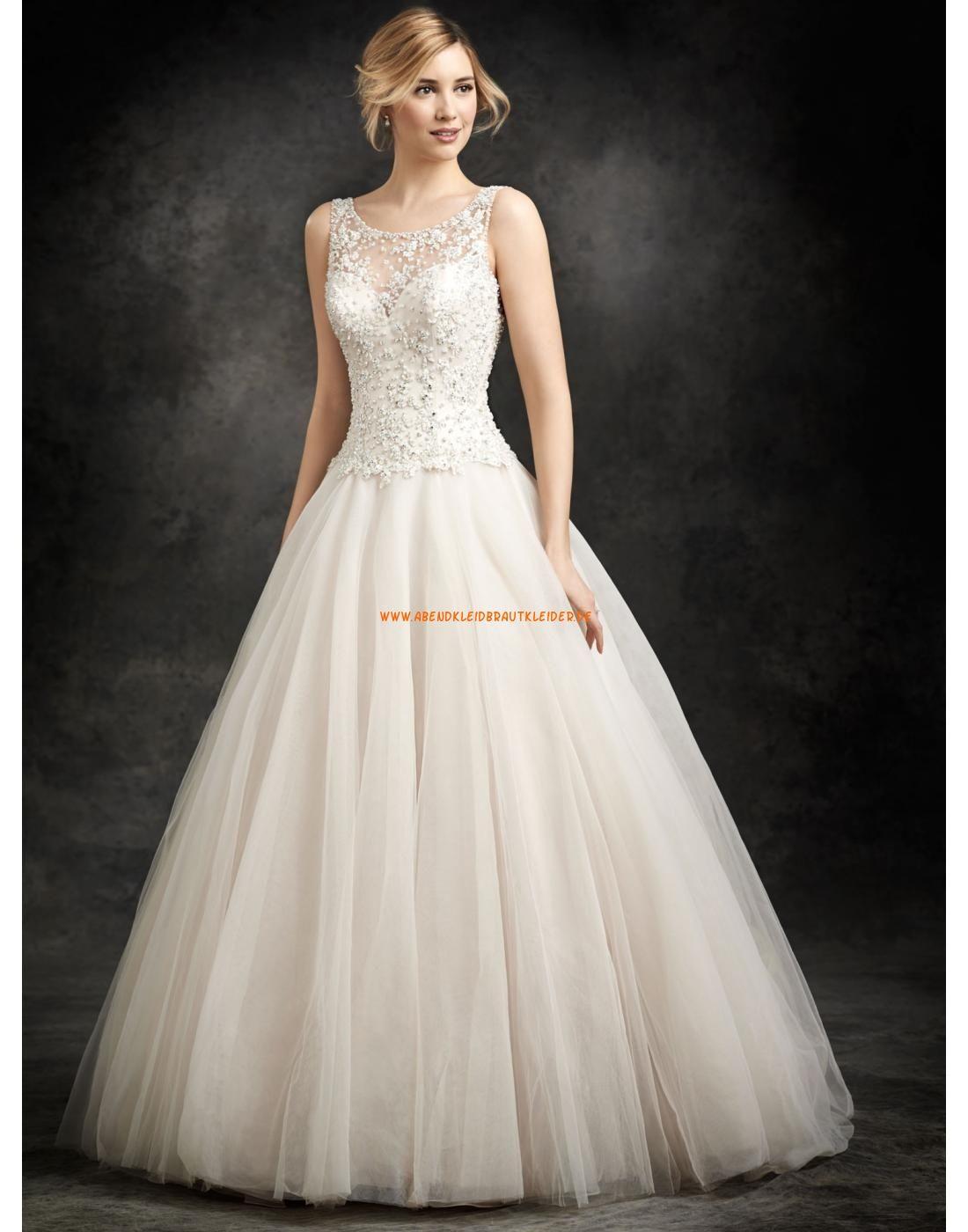 Ella Rosa A-linie Romantische Traumhafte Brautkleider aus Softnetz ...
