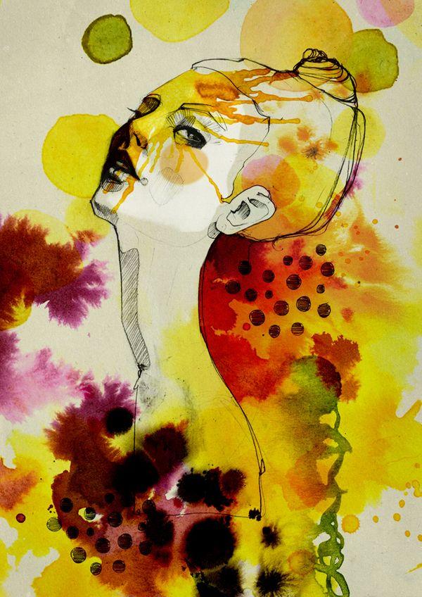 CMYK by Ekaterina Koroleva, via Behance