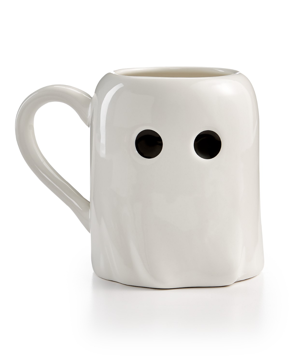 Martha Stewart Collection Ghost Mug, Created for Macy's & Reviews - Glassware - Dining - Macy's