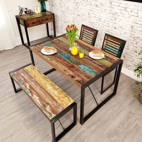Baumhaus Urban Chic Small Dining Table Small Dining Table