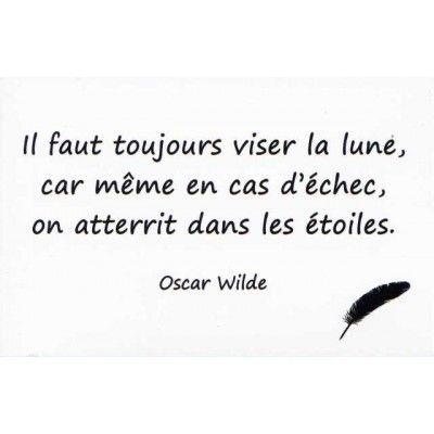 CARTE POSTALE   CITATION Du0027OSCAR WILDE (LE SEUL MOYEN DE SE DELIVRER DE LA  TENTATION...) Souvenirs De Paris à Partir De [PRICE_