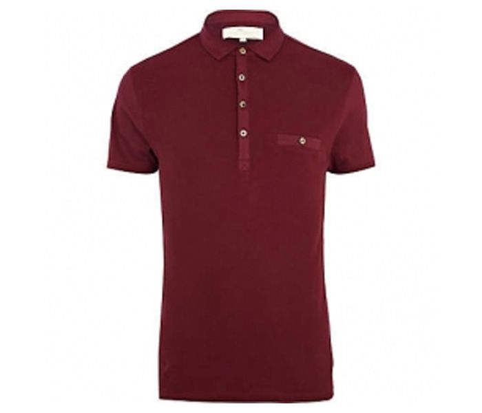 Plain Dark Red Polo T Shirt Manufacturers In USA, UK and Australia ...