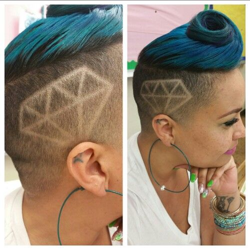 Shaved Diamond Design Shavedside Shaveddesign Undercut Diamond Shaved Hair Designs Hair Designs Hair Designs For Boys