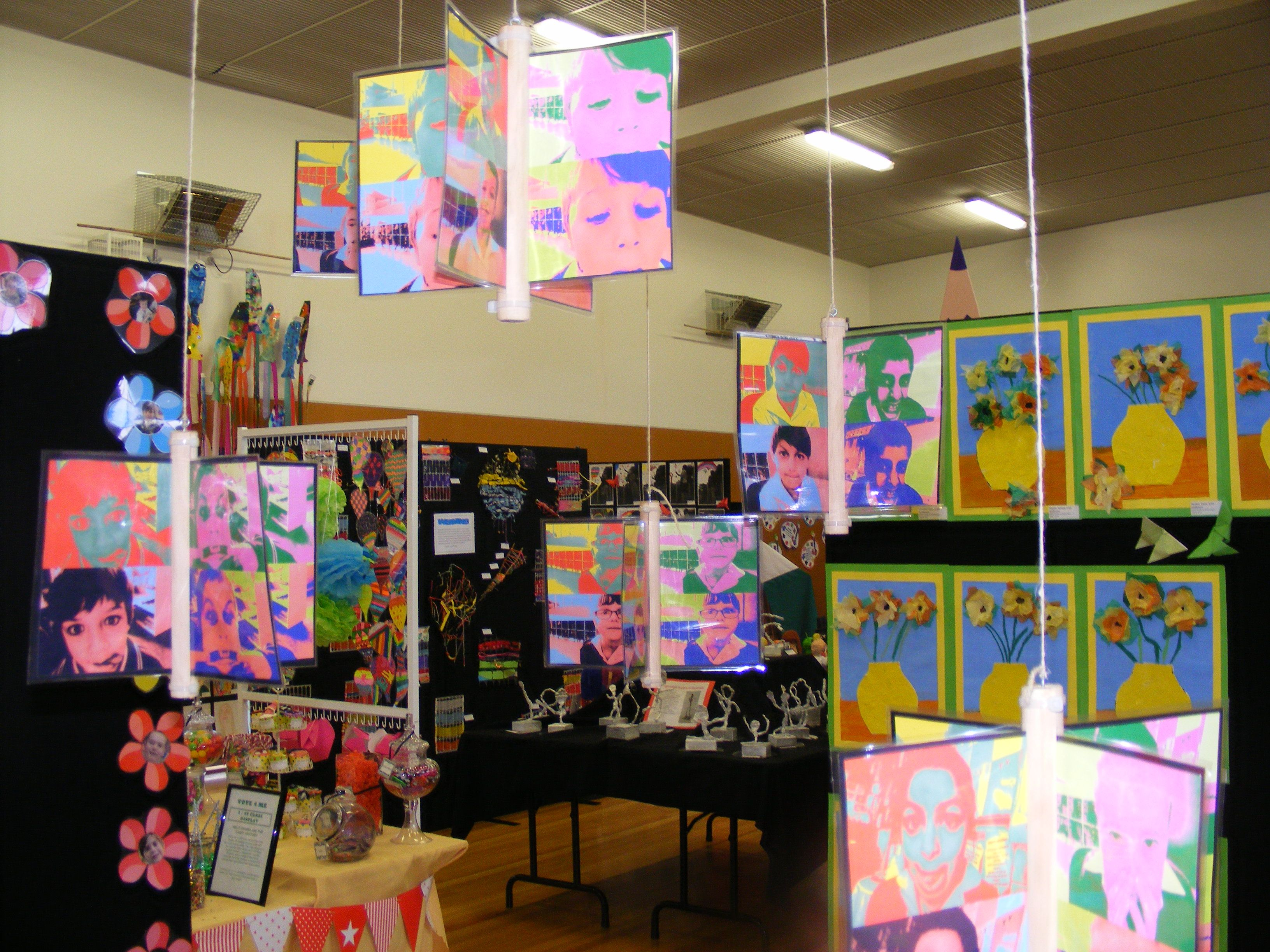 Art Display Ideas For Shows