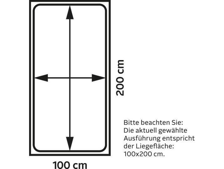 Photo of Home affaire Boxspringbett Casey Struktur fein, 100×200 cm, 7-Zonen-To