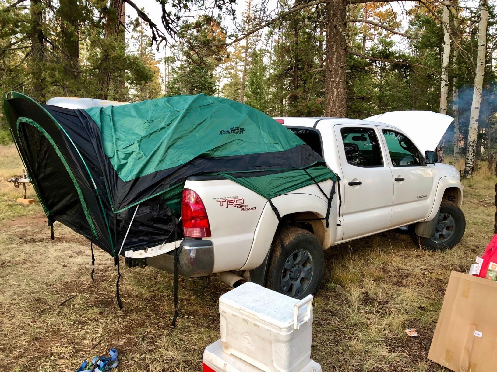 4door Truck Bed Camping in 2020 Truck bed