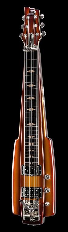 Duesenberg Fairytale Lapsteel Goldburst Cranbourne Music Lap Steel Slide Guitar Fairy Tales