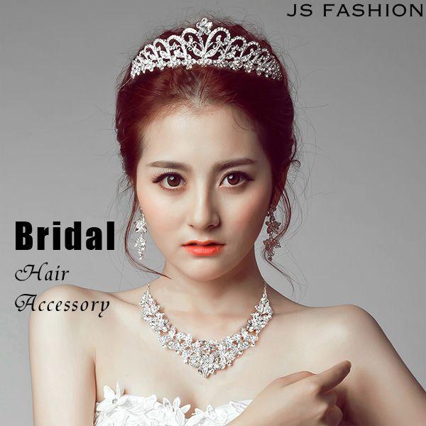 05ffb9e03543c キラキラ輝くティアラ・王冠・クラウン・カチューシャ・ブライダル・結婚式ヘアアクセサリー