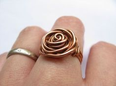 Diy wire rose ring the diy adventures upcycling recycling and do diy wire rose ring the diy adventures upcycling recycling and do it yourself solutioingenieria Image collections