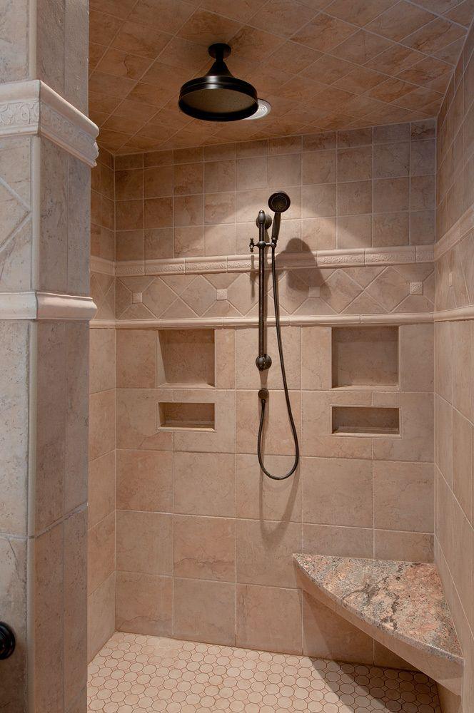 Shower Renovation Inspiration Shower Renovation Custom Tile Shower Traditional Bathroom Designs