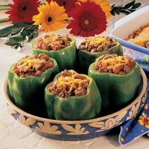 Chili Stuffed Peppers Recipe Stuffed Peppers Peppers Recipes Recipes