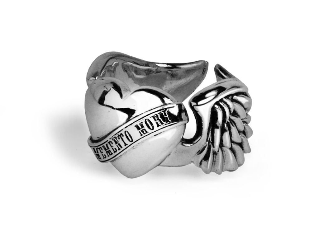 « WINGS OF DESTINY »  Ring in massive 925 sterling silver, designed for BLACK BARON   www.black-baron.de  #juwelry #ring #silver #handmade #design #madeingermany #skull #wing #rosary #necklace #unique #gq #luxury #forbes #magdeburg #rock #harleydavidson #indian #jewellery #3d #cad #cam #revolver #pistol #steampunk #crown #gemstones #diamond