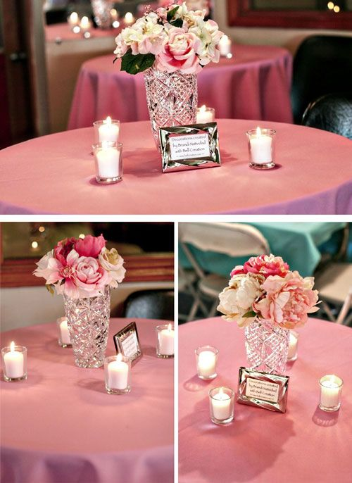 Entry #24: DIY Flower Centerpiece | Flower centerpieces ...