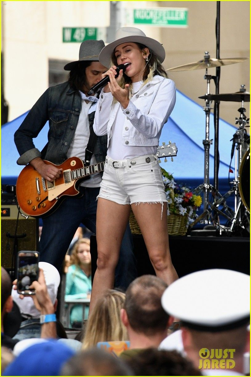 miley cyrus today show concert 01 Miley cyrus style