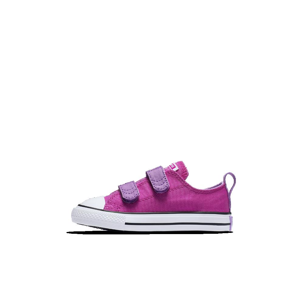 e7d5c5ee4de8b5 Converse Chuck Taylor All Star Fundamentals Low Top Infant Toddler Shoe  Size 2C (Purple) - Clearance Sale