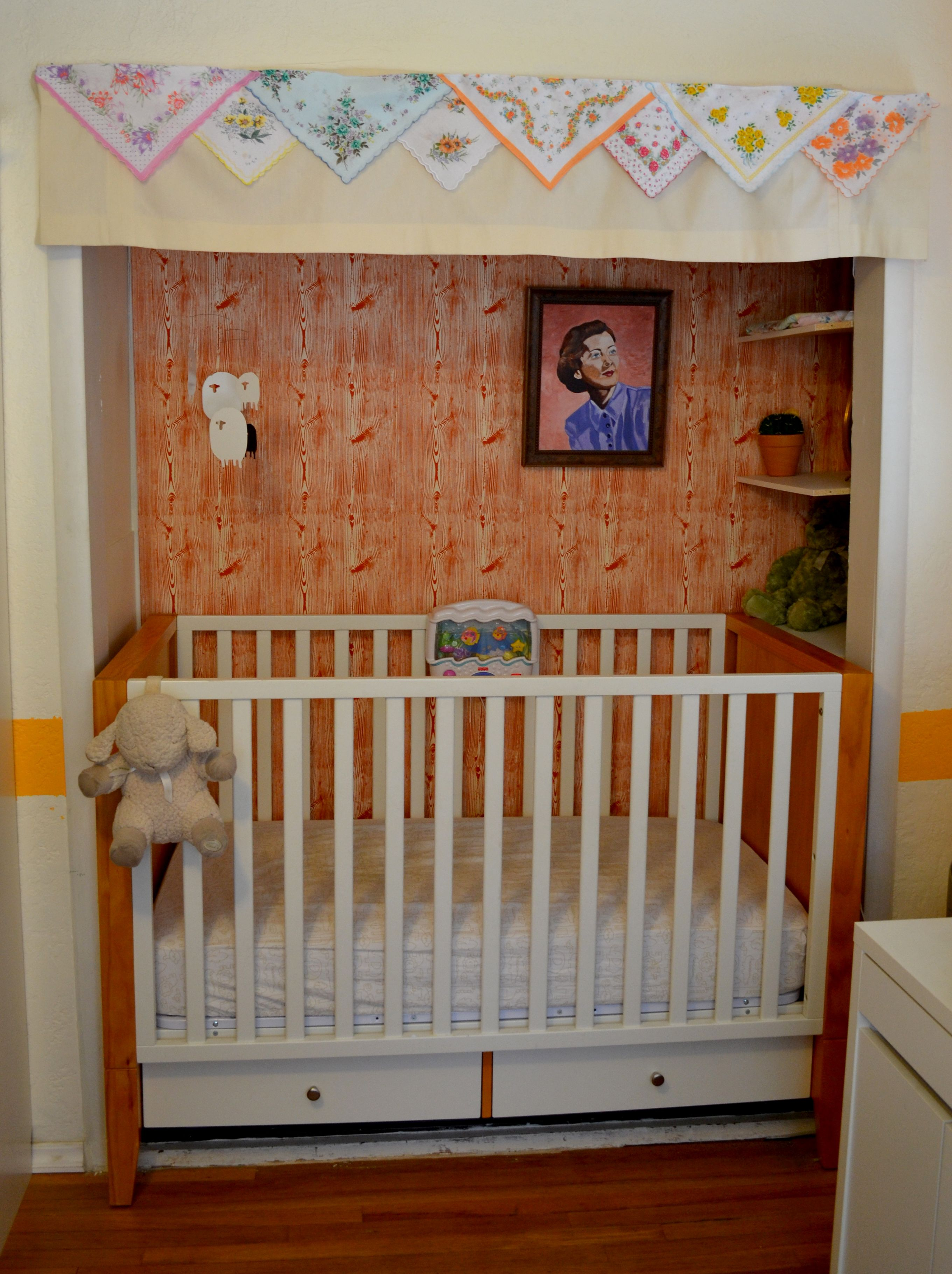 Baby Boy Closet: Crib In The Closet! Great For Saving Space And It's So