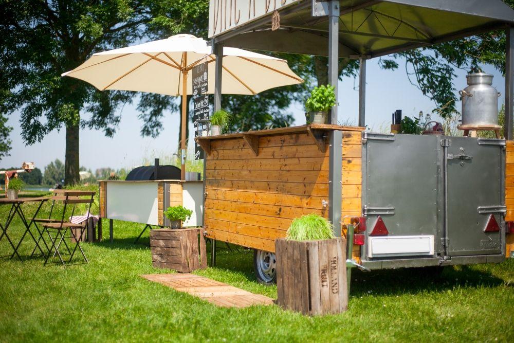 Barbecue food truck en evenement catering bbq