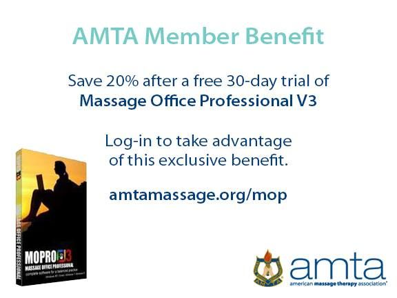 Save 20 On Massage Office Professional V3 Through Your Amta