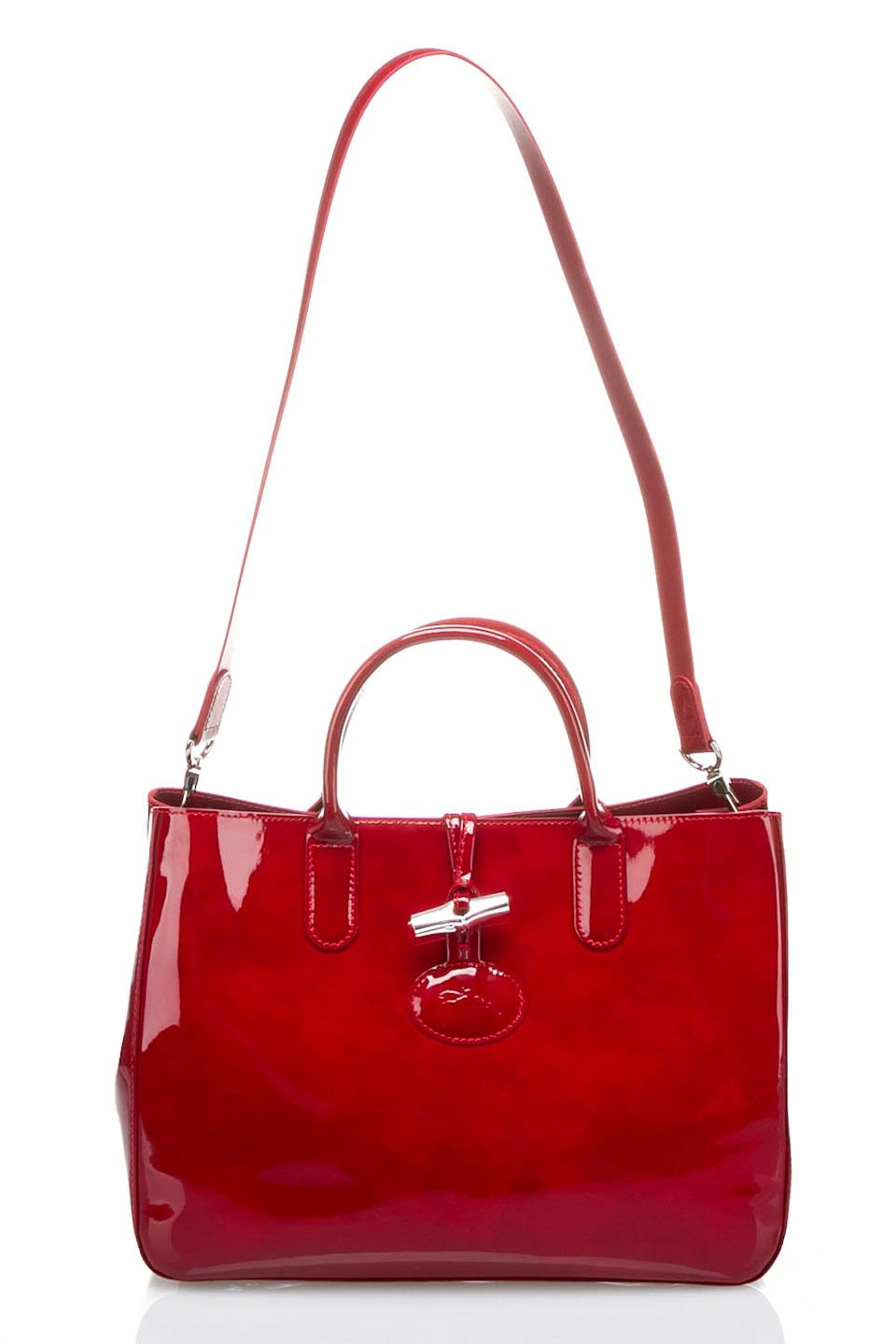 Longchamp Roseau Box Tote Bag in Carmine - Beyond the Rack! #baglove