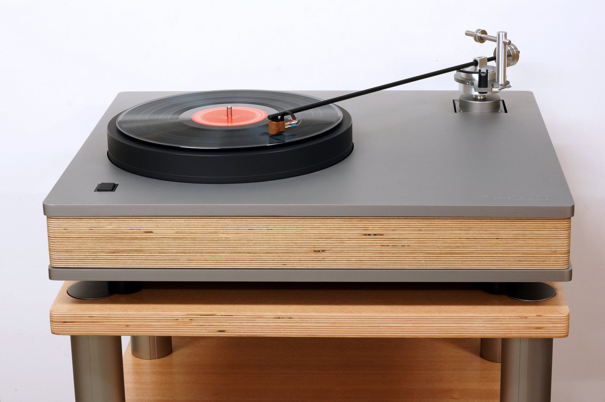 This Weighty Turntable Has A 16 Tonearm The Vinyl Factory Diy Turntable Turntable Hifi Turntable
