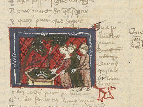 Titre : Recueil de textes Auteur : Christine de Pisan (1363?-1431?). Auteur du texte Date d'édition : 1401-1500 Type : manuscrit Langue : Français Format : Papier, miniatures