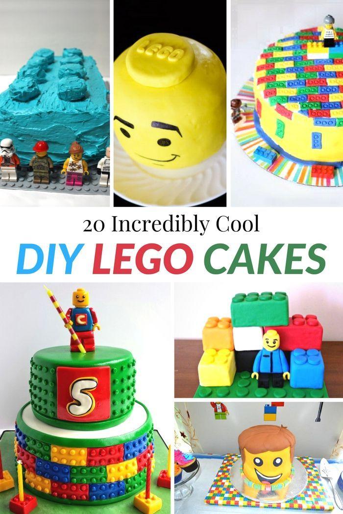 20 Incredibly Cool Diy Lego Cakes Easy Lego Cake Lego Cake