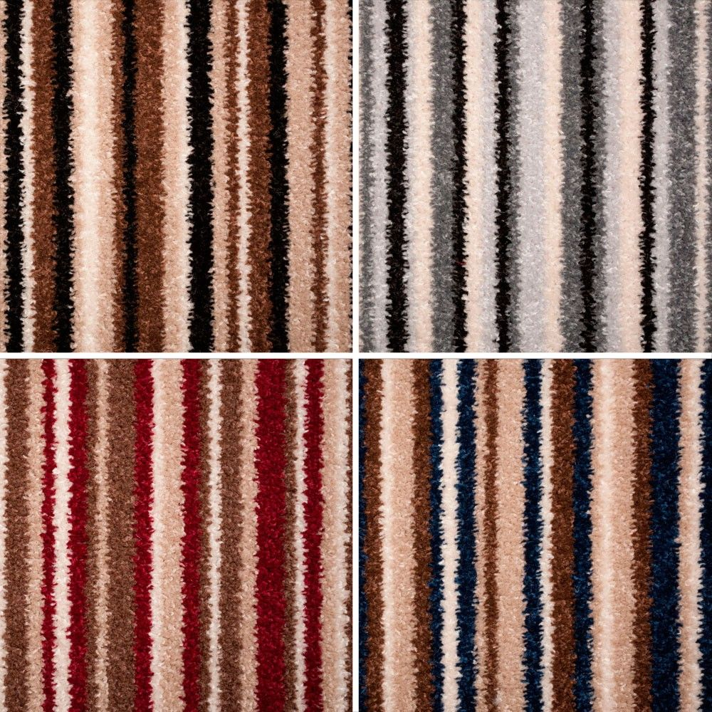 Fab Stripe Twist Felt Backed Carpet