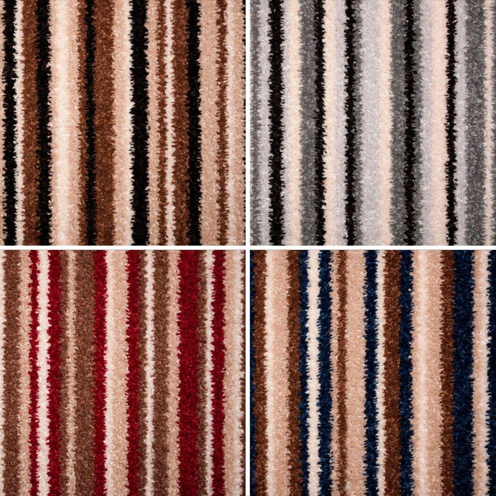 Best Fab Stripe Twist Felt Backed Carpet Buy Stain Safe 400 x 300