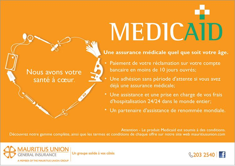 Mauritius Union General Insurance Nous Avons Votre Sante A Coeur