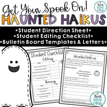 Halloween Haiku Bulletin Board Bulletin board letters, Bulletin - halloween writing ideas