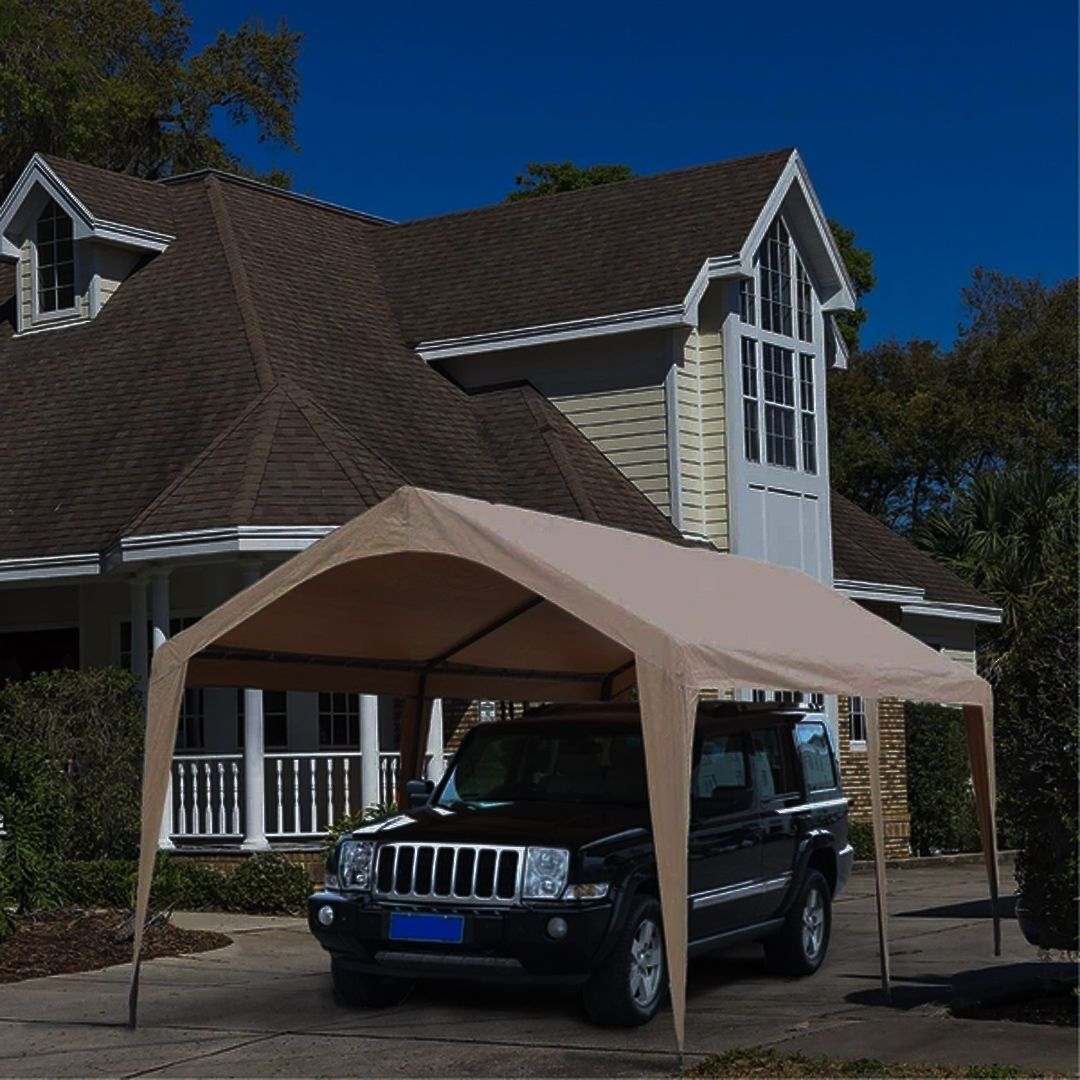 Keep your car free from snow this winter with Abba Patio's