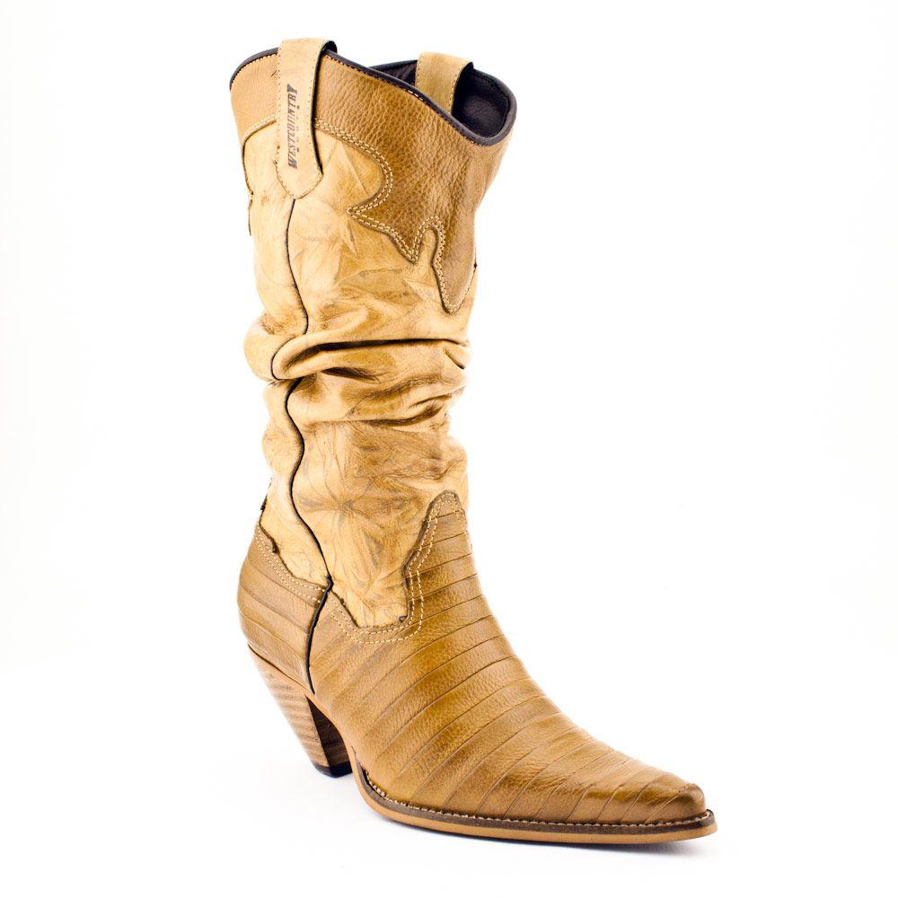 fcba903a Bota country feminina Floather Crush Tan • Brasil Cowboy - A sua loja  country 24 horas